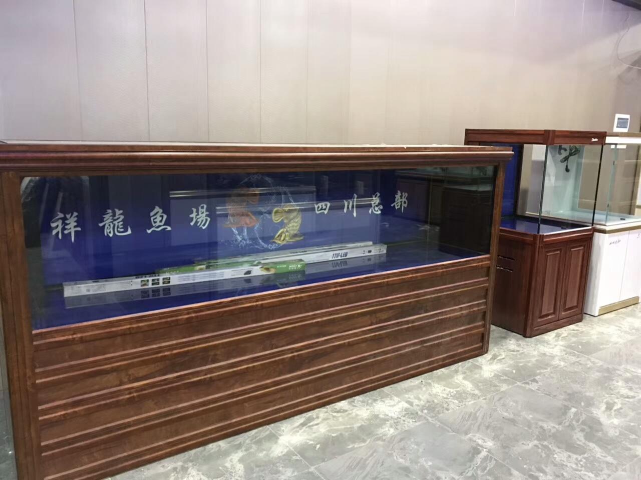 绵阳最大鱼缸入驻绵阳祥龙水族馆